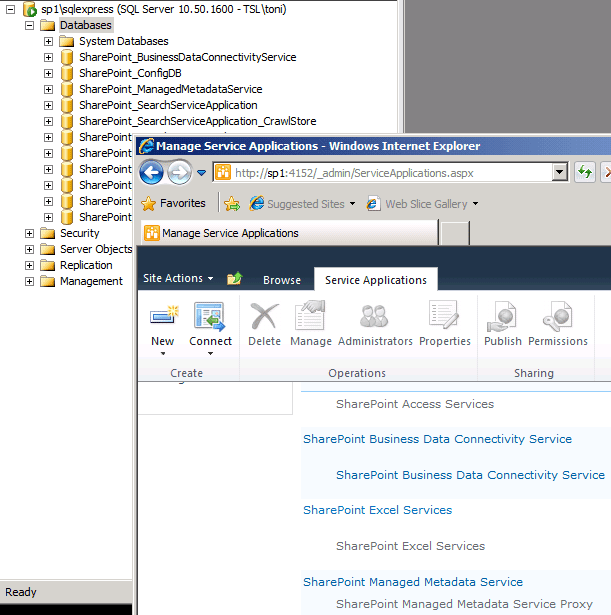 SharePoint 2010 farm configuration with PowerShell